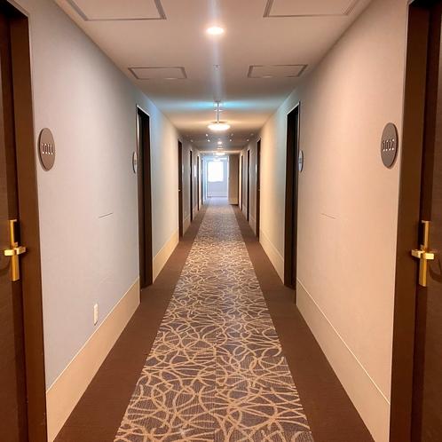 お部屋までの道(廊下)