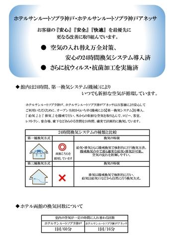 新型コロナウイルスに対する取り組み【1】