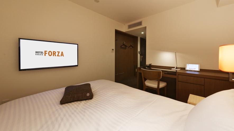 ベッドからゆっくりテレビをご覧いただけます「フォルツァダブル」