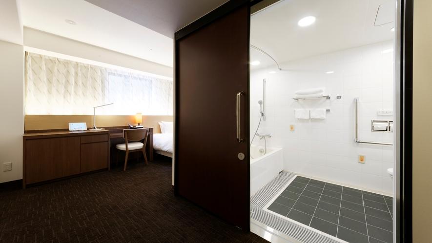 どなたにも安心安全にお過ごしいただける機能を持ったお部屋「ユニバーサル」