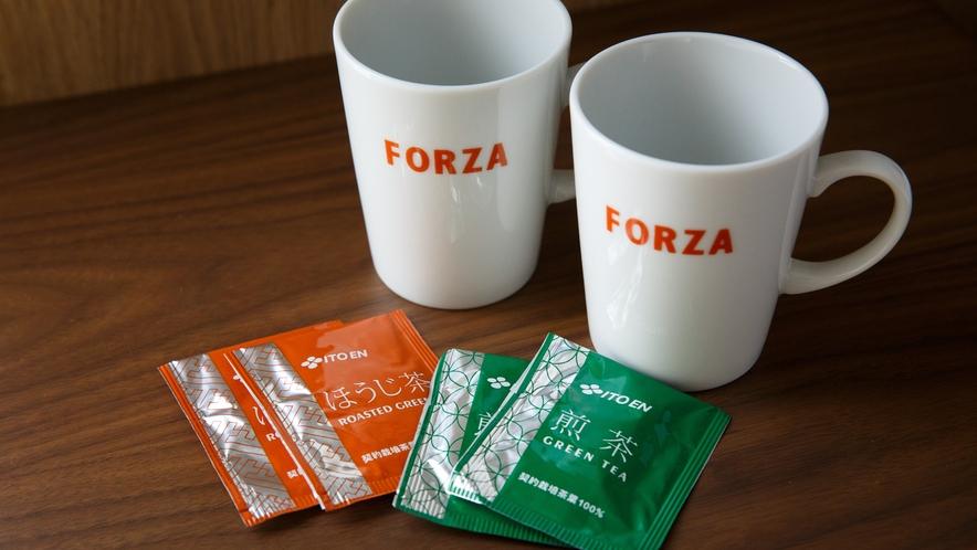 マグカップ・お茶(全室設置)