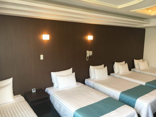 *洋室フィフス/5名様までお泊りいただける広々客室。