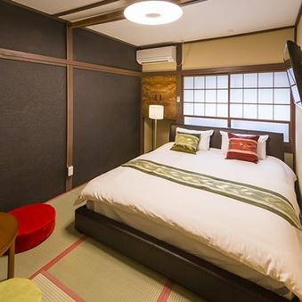 パンダ豆のお部屋♪クィーンサイズベッドのラブリーなお部屋です