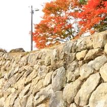 久山館の石垣2