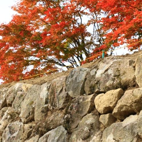 久山館の石垣