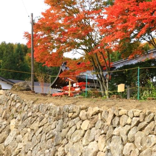 久山館の石垣3