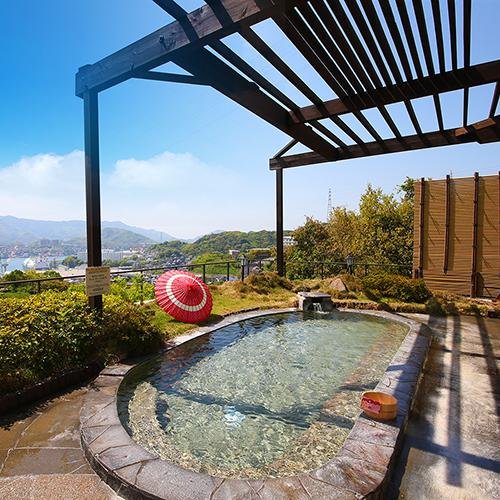 3階【満天の湯】露天風呂からの眺めもGOOD!