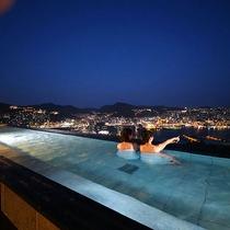 11階 展望の湯(夜)