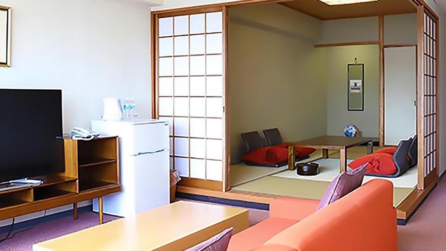 DX和洋室【洋室ツイン+和室7.5畳+リビング】(禁煙)