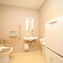 バリアフリーのトイレ 【4階】