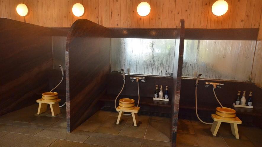 【4F・大浴場】女湯「おつうの湯」◆シャワーブース
