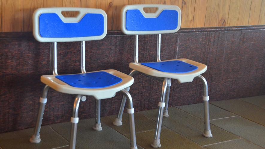 【4F・大浴場】高椅子もご用意いたしております。