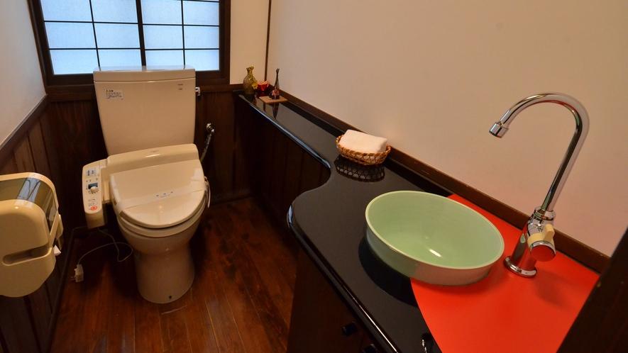 【離れ/山茶花】トイレ