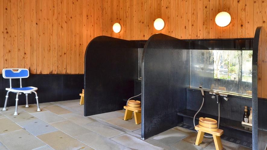 【4F・大浴場】男湯「武蔵の湯」◆シャワーブース