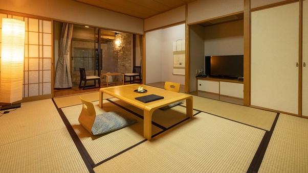 【温泉露天風呂付き】和室(42平米)