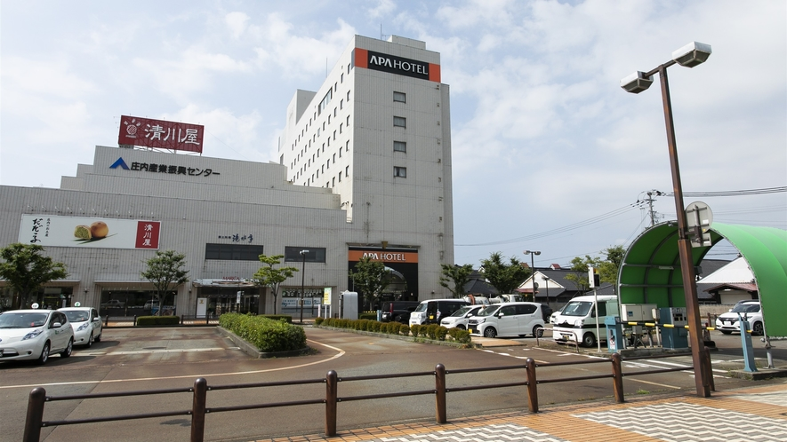 鶴岡駅からの経路③
