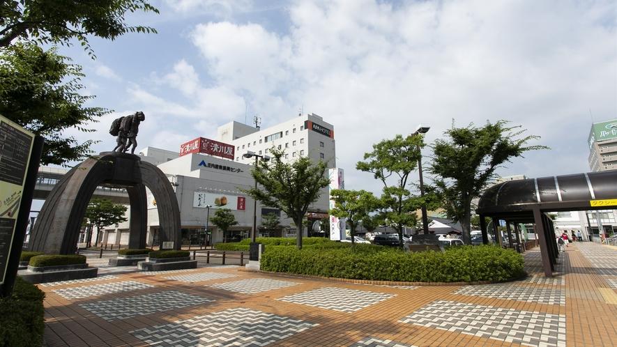 鶴岡駅からの経路②
