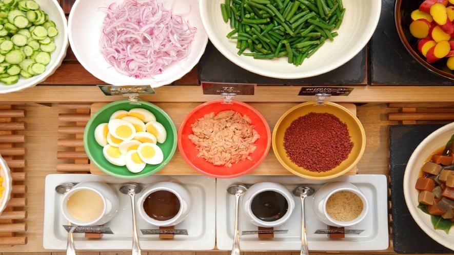 色とりどりのお料理