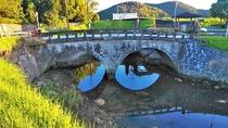 *【周辺観光】江之口橋:肥後の名工・岩永三五郎が、薩摩藩で手掛けた最後の石造眼鏡橋といわれており、市