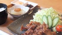 *生姜焼き定食