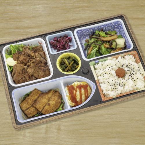 【ルームサービス】上州もち豚生姜焼き定食などお弁当をご用意します。