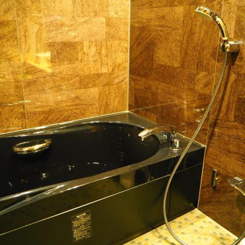 【特別洋室】高級感溢れるバスルーム完備