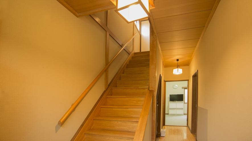 【離れ2LDK】2階へは階段で