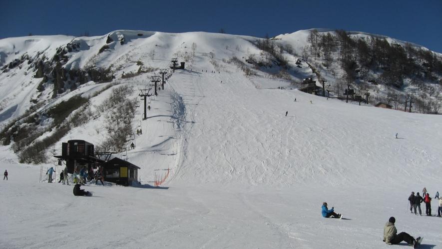 【周辺情報】草津国際スキー場まで当館からお車で約3分!