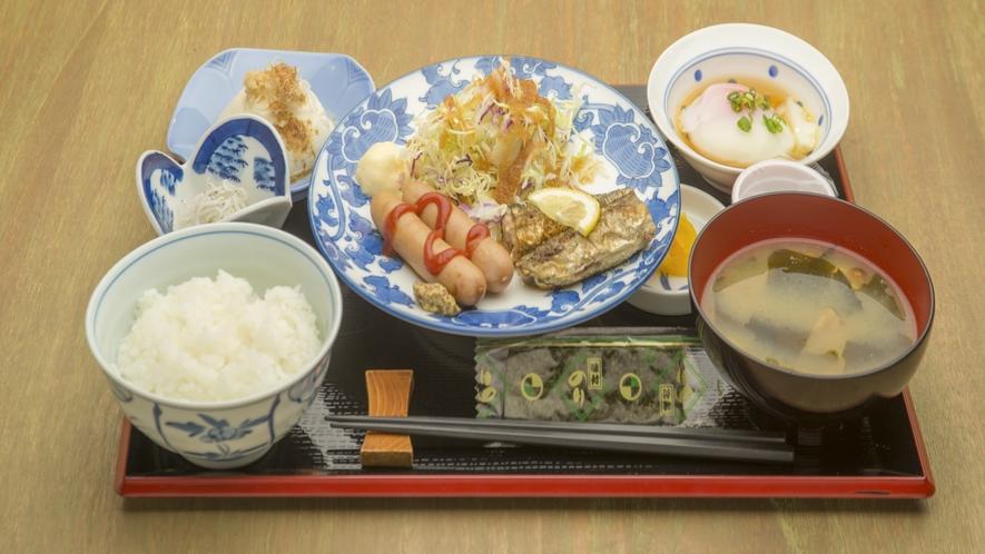 ご朝食は「和食御膳」をご用意いたします。