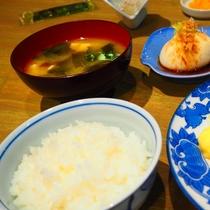 【ご朝食】和定食をご用意します。(1)