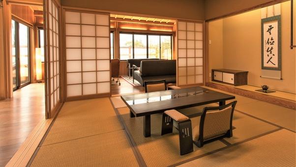 ■特別室「竹」■ 和洋室・露天風呂付 ※7〜9月限定プール付