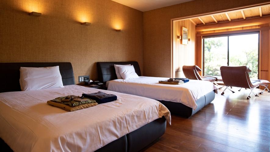 【特別室「梅」】※客室によって設えが異なります。
