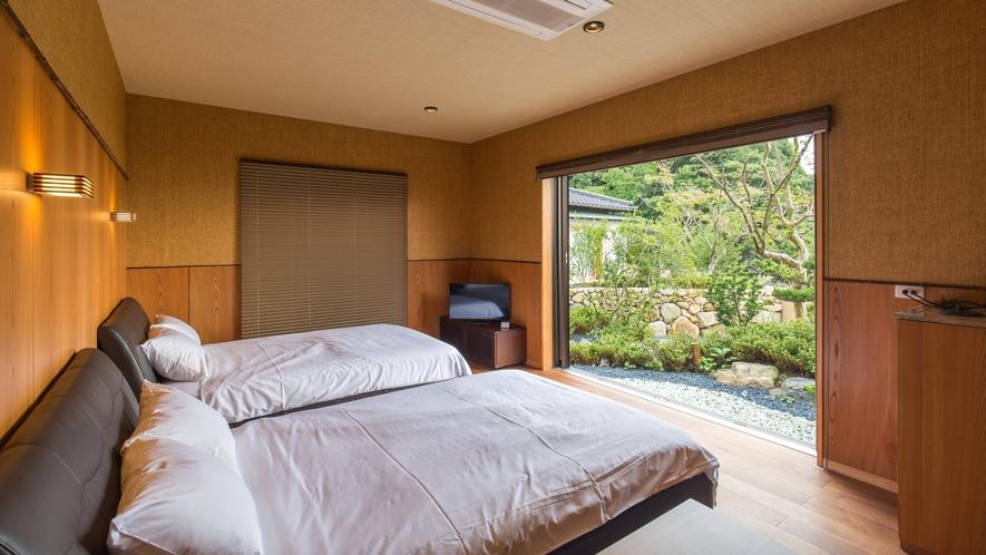 【離れ】和洋室 /一例※客室によって設えが異なります。