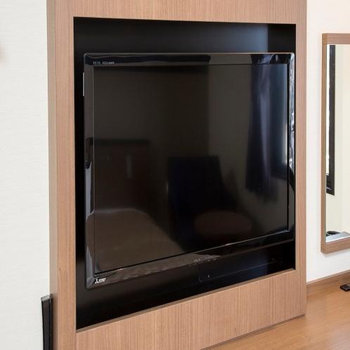 客室設備 32インチ壁掛けテレビ