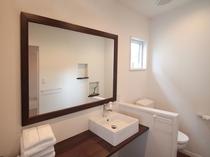 スーペリアルーム【B】の浴室横化粧室