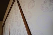 京都の伝統工芸品「京からかみ」の襖