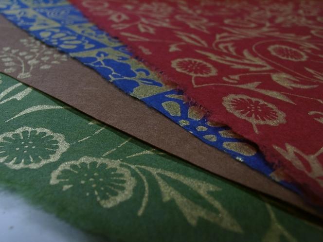 平安時代にはじまり、襖や壁紙に使用されてきた「京からかみ」