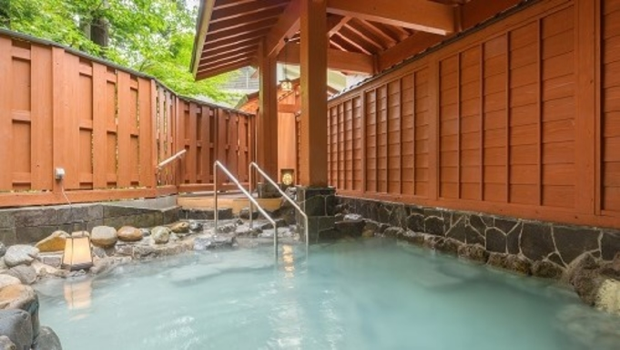 【秋冬旅セール】さむーい季節はぽっかぽかな温泉で♪4か所ある源泉かけ流し無料貸切風呂で温泉三昧★