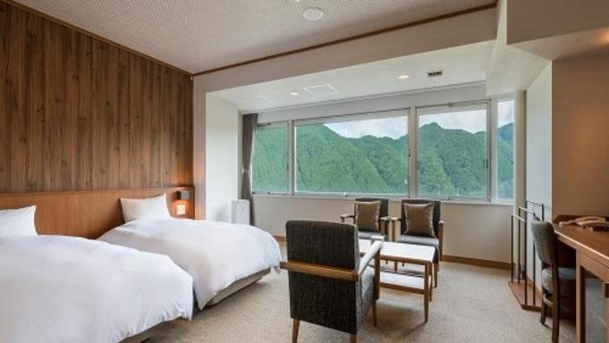 【本館☆スタンダード】鳴子温泉の高台に佇むホテル♪4箇所の無料貸切風呂で温泉三昧!のんびり過ごす休日