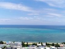上空から撮影した風景