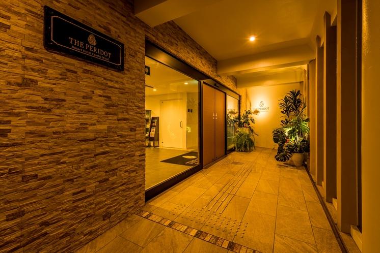 入口前廊下