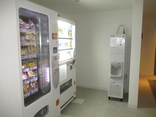 各種自動販売機、製氷機