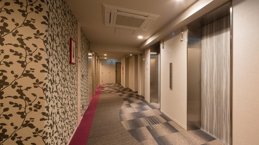 なんば>エレベータホール