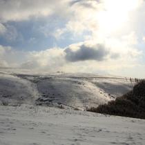冬の車山高原