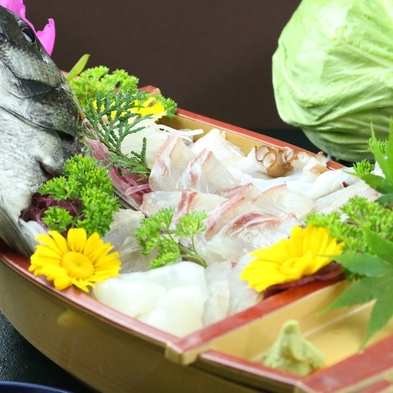 【ボリューム×新鮮の松プラン】味に自信あり!旬の佐久島舟盛り&焼き大アサリ★焼き牡蠣付きのプラン