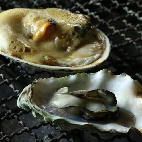 牡蠣とアサリ