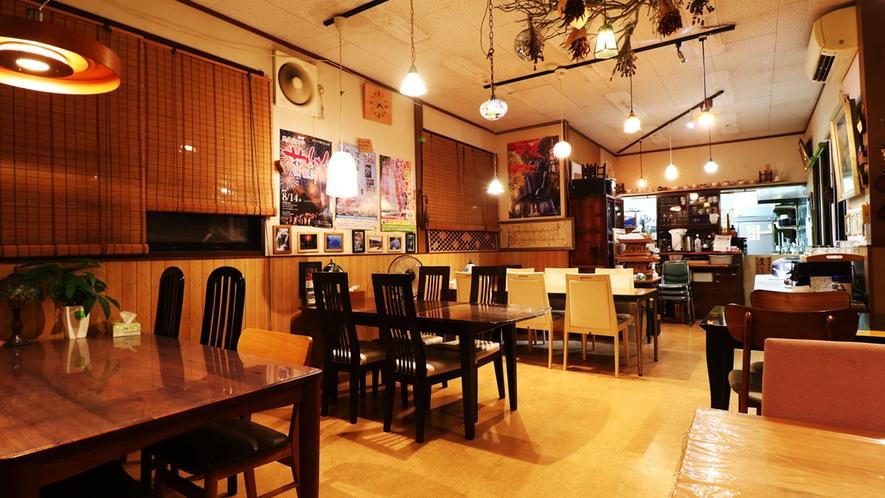 【館内】お食事はこちらのレストランでご提供いたします。