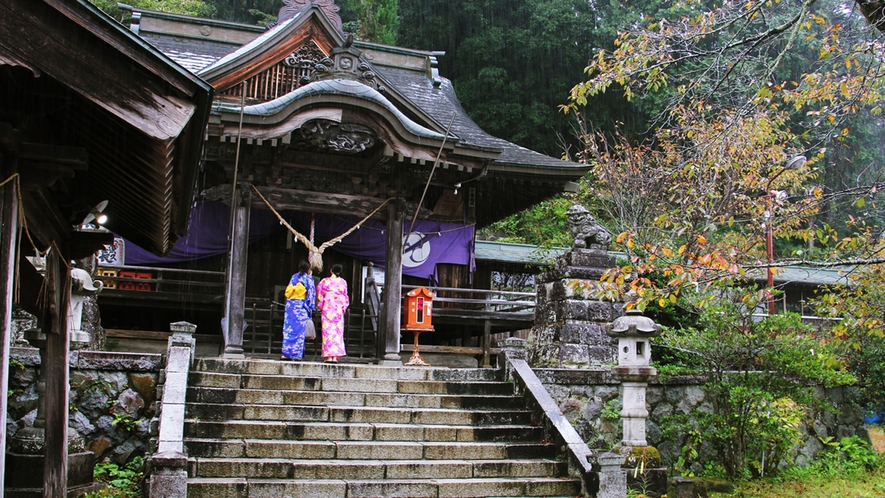 大子町には何か所か神社がございます。街歩きの際に立ち寄ってみてください♪