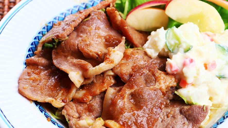 【夕食単品】メイン料理は日によって変わります。何が出てくるかはその日のお楽しみ♪