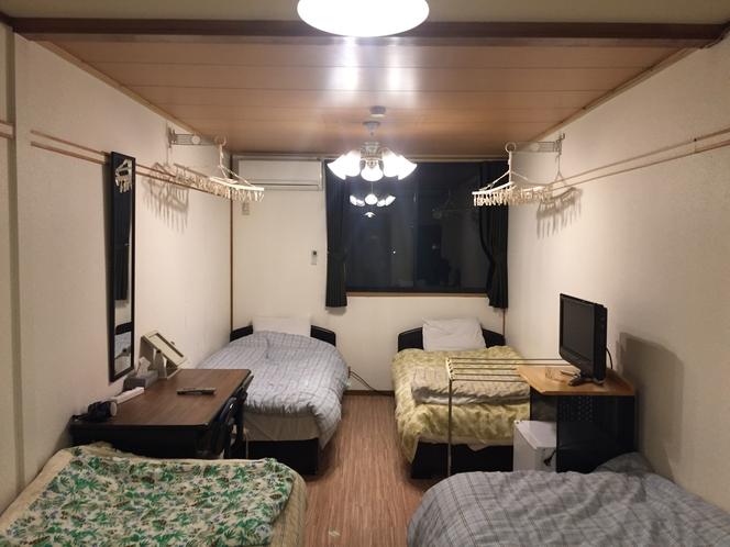 ドミトリー部屋一例